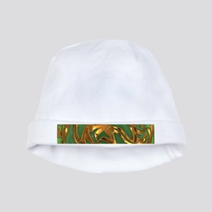 Faberge's Jewels - Green baby hat