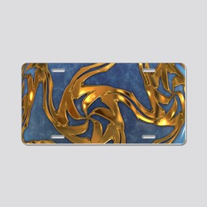 Faberge's Jewels - Blue Aluminum License Plate