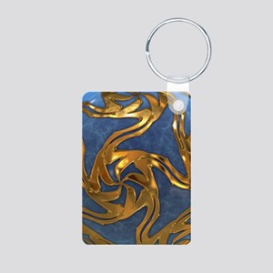 Faberge's Jewels - Blue Aluminum Photo Keychain