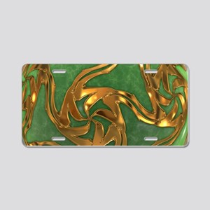 Faberge's Jewels - Green Aluminum License Plate