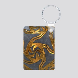 Faberge's Jewels - Grey Aluminum Photo Keychain