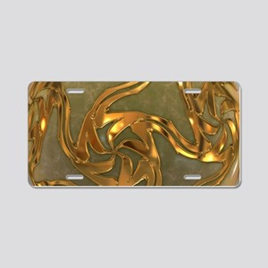 Faberge's Jewels - Yellow Aluminum License Plate