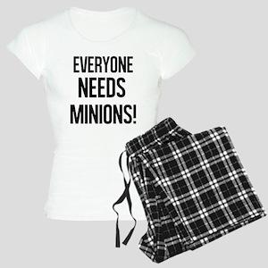Everyone Needs Minions Pajamas