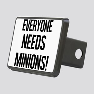 Everyone Needs Minions Hitch Cover