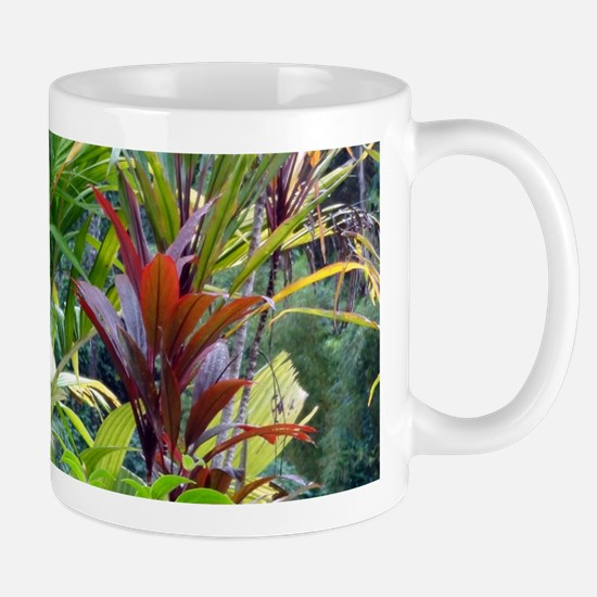 Tropics With Plumeria Mugs