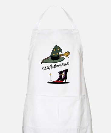 Out of the Broom Closet BBQ Apron