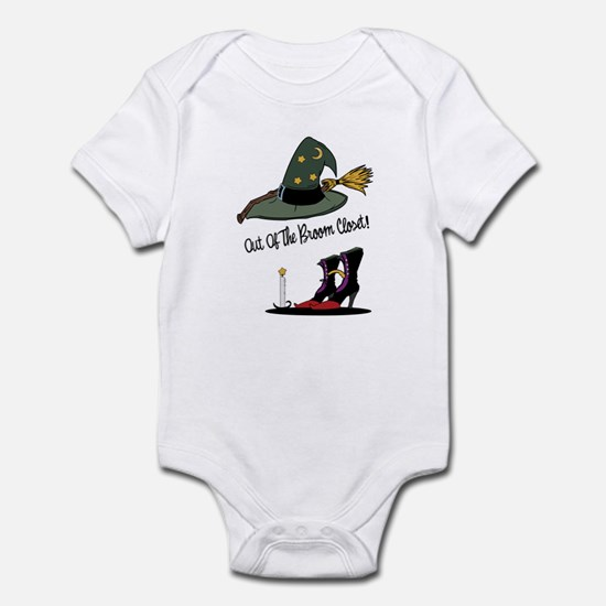 Out of the Broom Closet Infant Bodysuit