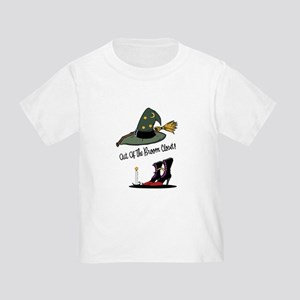 Out of the Broom Closet Toddler T-Shirt