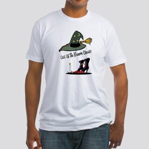 Out of the Broom Closet Fitted T-Shirt