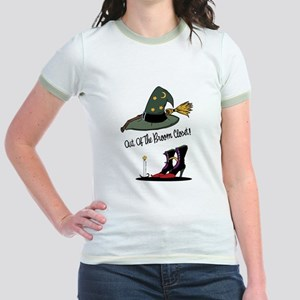 Out of the Broom Closet Jr. Ringer T-Shirt