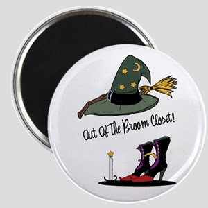 Out of the Broom Closet Magnet