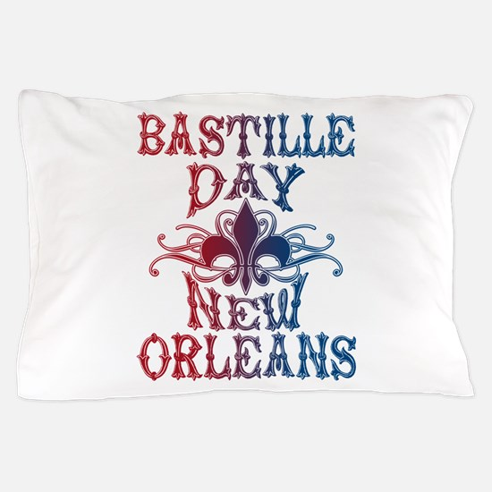 Bastille Day New Orleans Pillow Case
