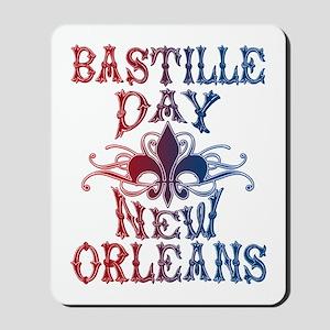 Bastille Day New Orleans Mousepad