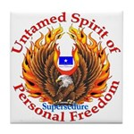 Spirit of Supersedure Tile Coaster