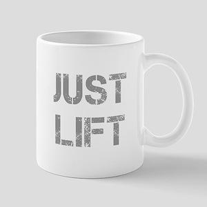 JUST-LIFT-CAP-GRAY Mugs