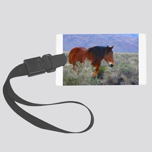 Valley Charm, Wild Horse Luggage Tag