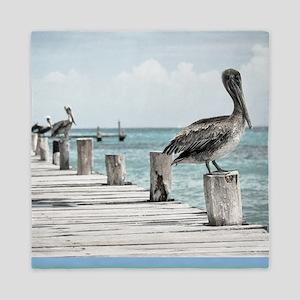 Pelicans Queen Duvet