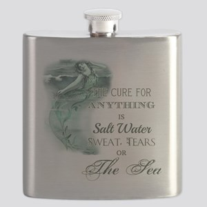 The Mermaids Cure Flask