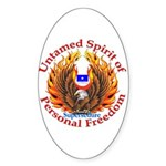 Spirit of Supersedure Oval Sticker