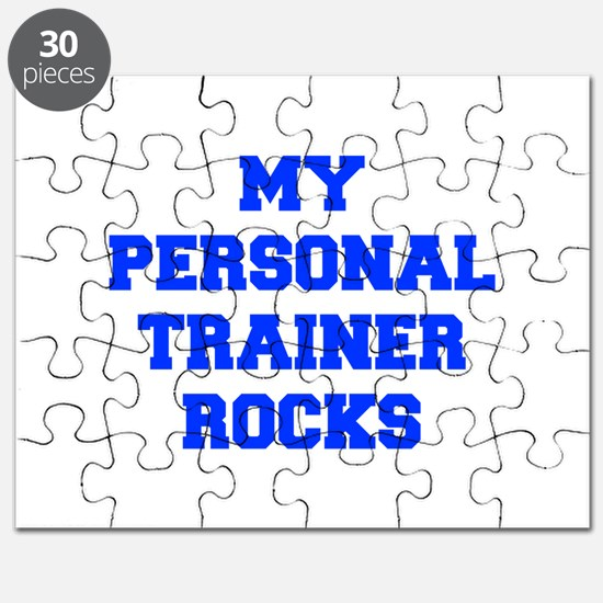 my-personal-trainer-rocks-FRESH-BLUE Puzzle
