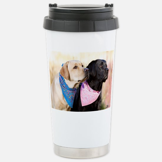 Just say go! Stainless Steel Travel Mug