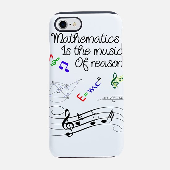 Mathematics quotes iPhone 7 Tough Case