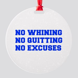 NO-WHINING-FRESH-BLUE Ornament