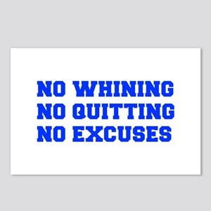 NO-WHINING-FRESH-BLUE Postcards (Package of 8)