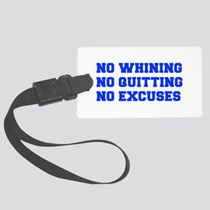NO-WHINING-FRESH-BLUE Luggage Tag