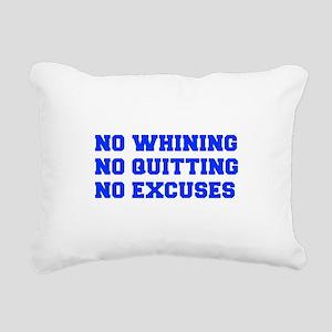 NO-WHINING-FRESH-BLUE Rectangular Canvas Pillow