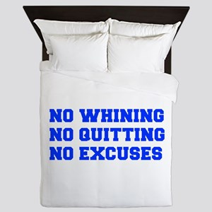 NO-WHINING-FRESH-BLUE Queen Duvet