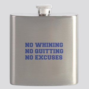 NO-WHINING-FRESH-BLUE Flask