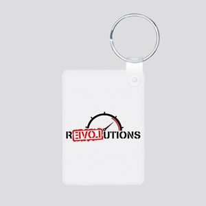 Revolutions Love Aluminum Photo Keychain