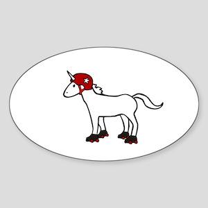 Roller Derby Unicorn Sticker