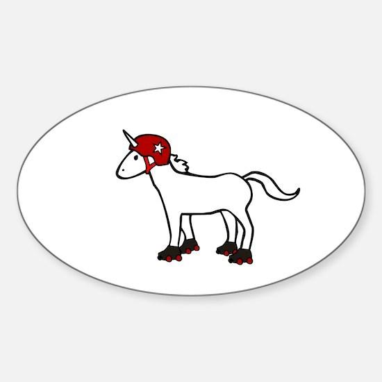 Roller Derby Unicorn Decal
