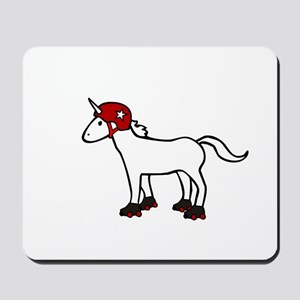 Roller Derby Unicorn Mousepad