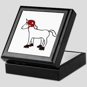 Roller Derby Unicorn Keepsake Box