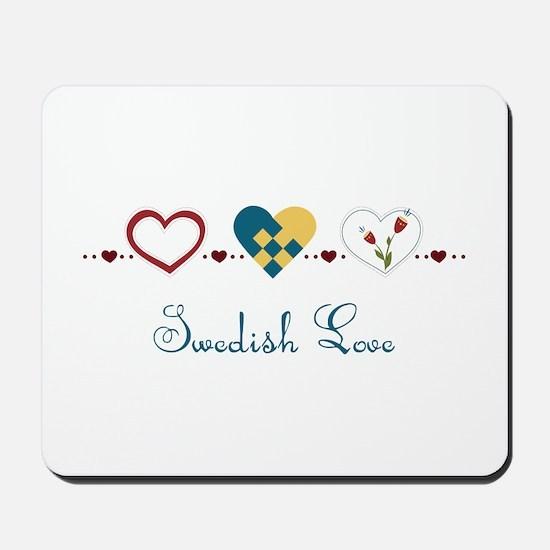 Swedish Love Mousepad