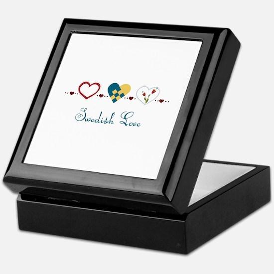 Swedish Love Keepsake Box