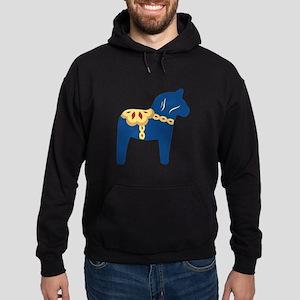 Dala Horse Hoodie