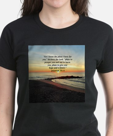 ISAIAH 41:10 Women's Dark T-Shirt