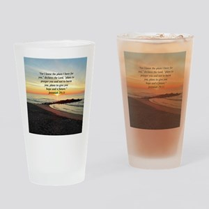 ISAIAH 41:10 Drinking Glass