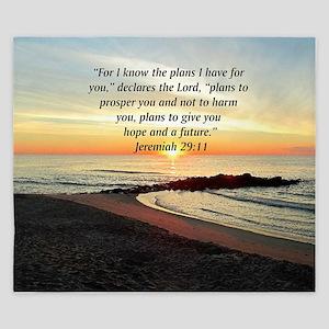 ISAIAH 41:10 King Duvet