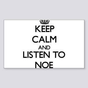 Keep Calm and Listen to Noe Sticker