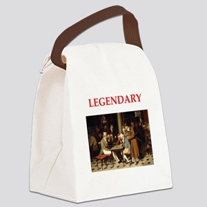 checkers Canvas Lunch Bag