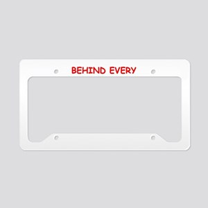 bridge License Plate Holder