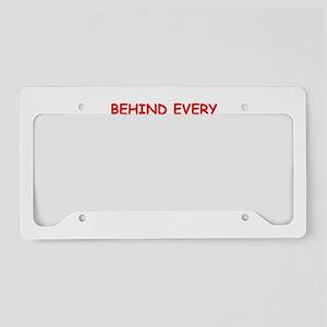 BRIDGE3 License Plate Holder