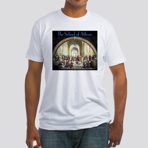 School of Athens Fitted T-Shirt