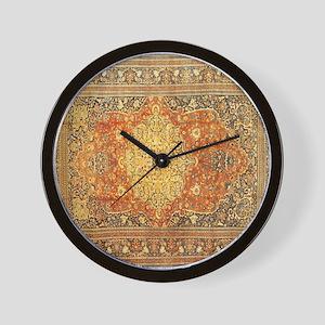 Persian Rug Wall Clock