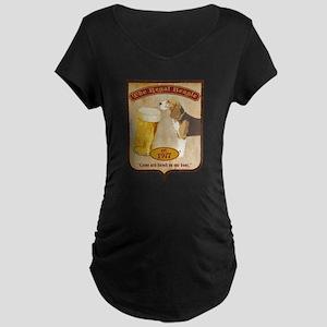 Regal Beagle Maternity Dark T-Shirt